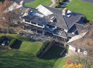 True Peace and Privacy : Former Sunoco Chairman's 30-Acre Estate with Helipad. Phila Main Line.