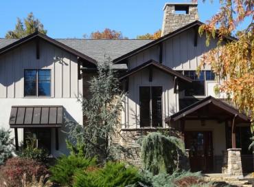 CEO's Ultra-luxe Aspen-style Estate.  Designed by Rene Hoffman, hidden on a gated lane.