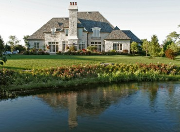 CEO's Estate on a Gated Lane. Substantial Acreage and a Private Lake.