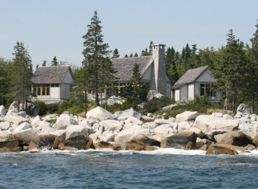 An Awe-Inspiring Oceanfront Family Compound in Nova Scotia